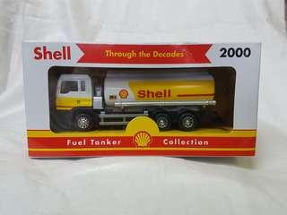 Shell Through The Decades 2000 Fuel Tanker Collection