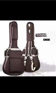 Brand new guitar 15 mm thick padded bag