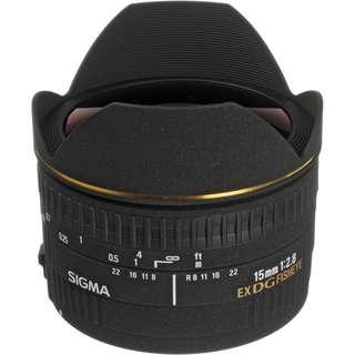 Sigma 15mm f/2.8 EX DG Diagonal Fisheye Lens for Sony