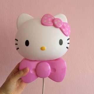 Hello Kitty Side Table Lamp Stand Lamp Cute Kids Deco