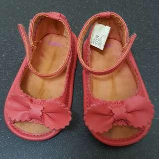 Baby girl prewalker shoes pink to bless with any purchase