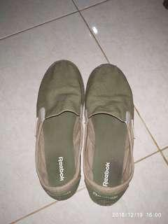 Slip On Reebok Khaki Green