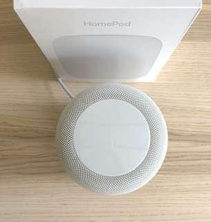 HomePod in white