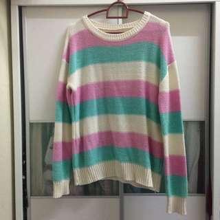 rainbow pastel sweater #XMAS25