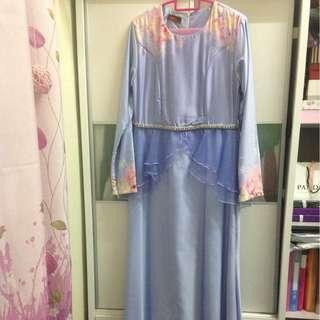 MINAZ daisy peplum dress #XMAS25