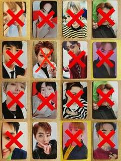 [WTS/PREORDER] EXO OFFICIAL LOVE SHOT PHOTOCARD BATCH 1