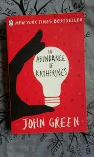 an abundance of katherines • john green