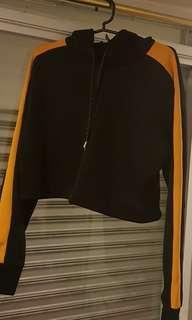 F21 cropped hoodie