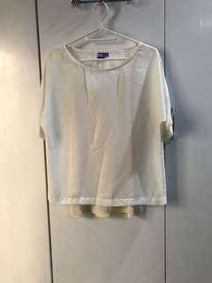 Beige Blouse (Small)