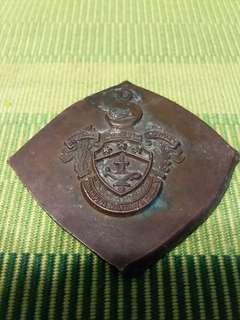 Philippine Military Academy PMA Copper Medal Coin Emblem