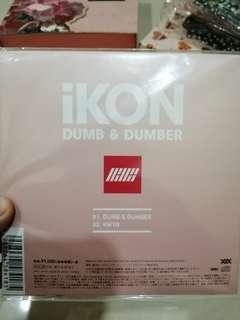 [Available] IKON Dumb and Dumber CD (Japan version)