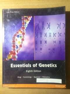 Essentials of Genetics 8th Edition
