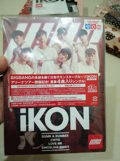 [Available] IKON Dumb and Dumber Japan DVD