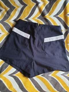 Maldita High Waist Shorts