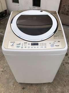 TOSHIBA washing machine 15 kg inverter