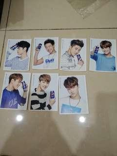 [Available] IKON photocard pepsi cola