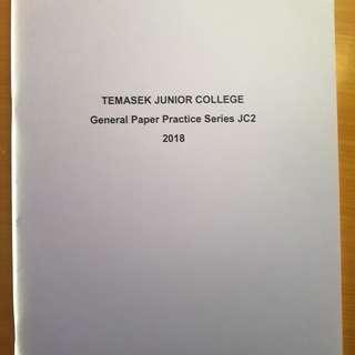 General Paper (GP) Practice Book