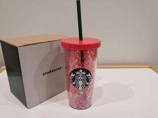 Starbucks Christmas Holiday Poinsettia 12oz Tumbler
