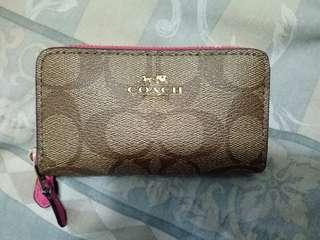 Authentic Coach New York Wallet