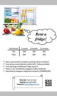 🚚 Rent fridge
