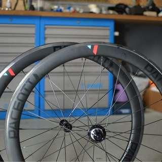 Pacenti Hand Built 50mm Carbon Tubeless Wheelset