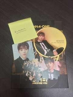 WANNA ONE I Promise You Night version Minhyun full set