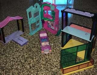 PRELOVED Littlest Pet Shop Apartment Toy House