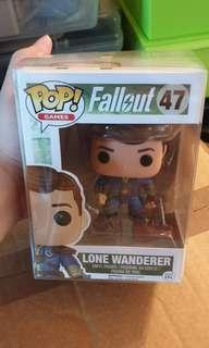 Funko pop lone wanderer fallout 3 4 ps3 ps4