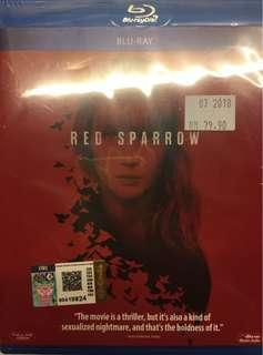 Red Sparrow Bluray
