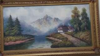 Painting with frame 1400x800