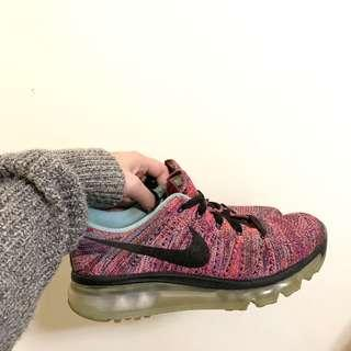 Nike flyknit max 氣墊鞋