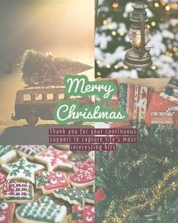Merry Christmas 🍀 Photography Videography