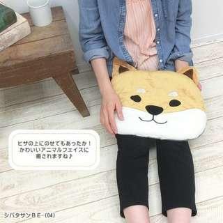 Friendshill柴犬頭USB發熱Cushion