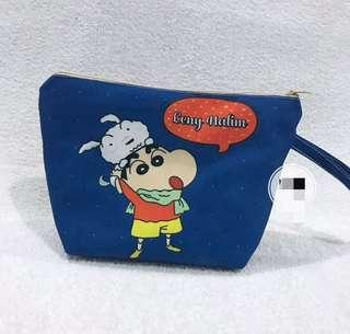 Sinchan Pouch Customized Name gift