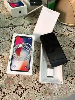 Iphone X 64GB Spacegrey FU Mulus Garansi Inter!