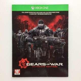 Gears Of War Ultimate Edition /戰爭機器終極版 - Xbox One Game #SELLITNOW