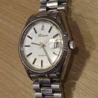 Lukcom 瑞士綠琴自動錶(新淨)