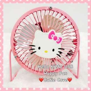 *IN STOCK IN SG* Hello Kitty USB Happy Fan
