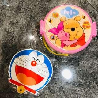 Doraemon / winnie lunchbox