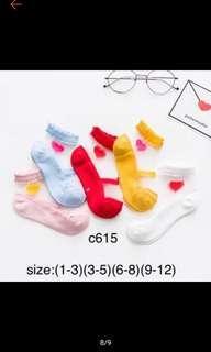 Korean Transparent Socks for kids