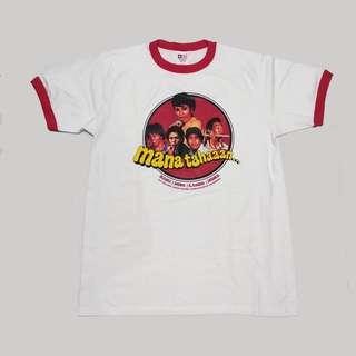 Tshirt / Kaos Warkop DKI Mana Tahan 1979 Ringer