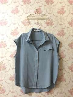 Cotton Ink Blue Shirt