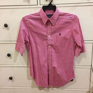 Ralph Lauren Stripe Shirt #XMAS25