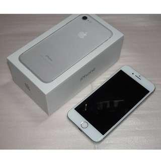 iPhone 7 128GB Silver / iPhone7 128G 銀 (Ref:7S-128)