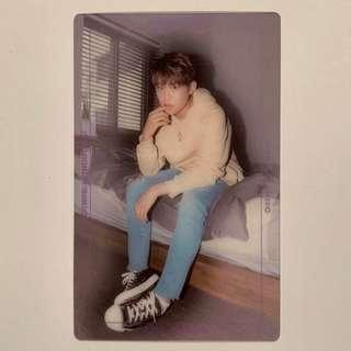 [KPOP] Wanna One Nothing Without You (Wanna Ver.) Woojin Transparent Photocard