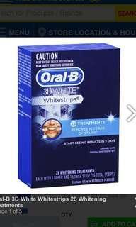 Oral-B 3D Whitestripes 28