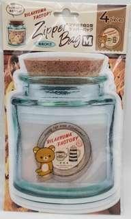 (日本直送) 鬆弛熊 收納袋 $40