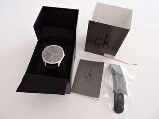 真品 限量款 Calvin Klein CK AUTOMATIC 經典大型自動機械男錶