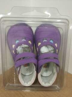 清倉 Darling 紫色 BB鞋 4号碼