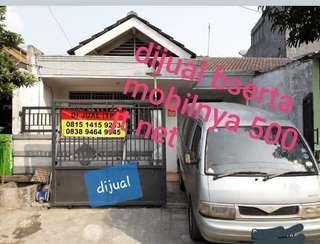 Dijual rumah .bonus mobil vireta Tangerang